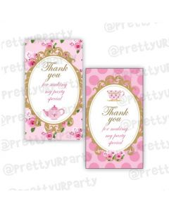 Tea Party Thankyou Cards