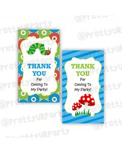 The Hungry Caterpillar Thank you Tags