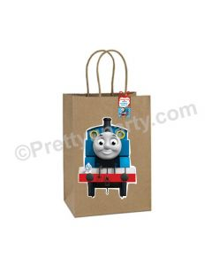 Thomas the Train Theme Gift Bags - Pack of 10