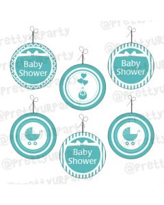 Tiffany Baby Shower Danglers