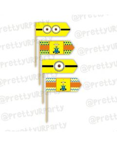 Despicable Me Minions toothpicks