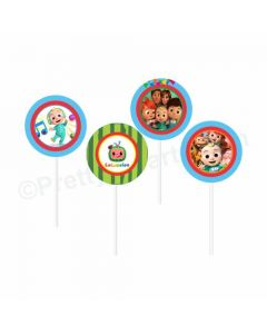 Cocomelon Theme Cupcake / Food Toppers