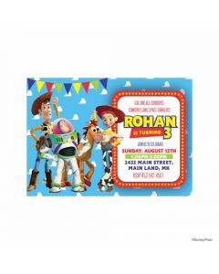 Toy Story Theme Invitations