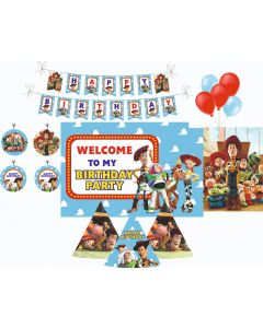 Toy Story Decorations Package - 70 pieces