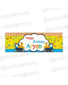 Personalized Alphabets & Train Banner