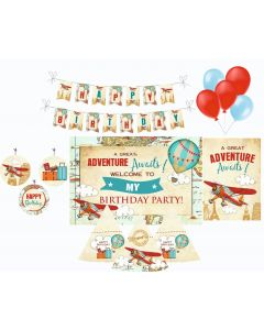 Travel Decorations Package - 70 pieces