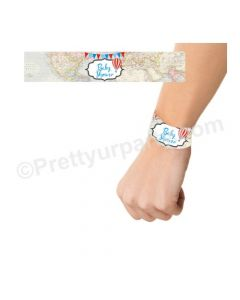 Travel Baby Shower Wrist Bands