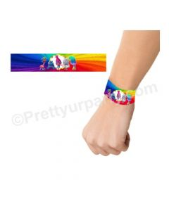Trolls Theme Wrist Bands