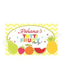 Tutti Fruity Theme Backdrop