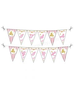 Twinkle Girl It's a Girl Bunting