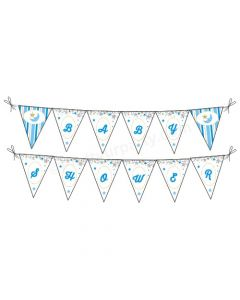 Twinkle Boy Baby Shower Bunting
