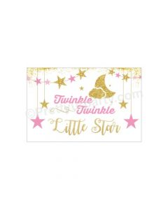 Twinkle Girl Baby Shower Table Mats