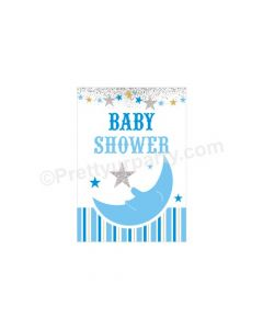 Twinkle Boy Baby Shower Centerpieces