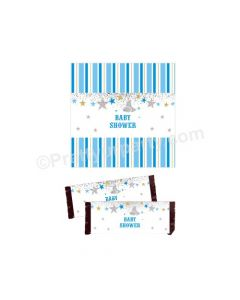 Twinkle Boy Baby Shower Chocolate Wrappers