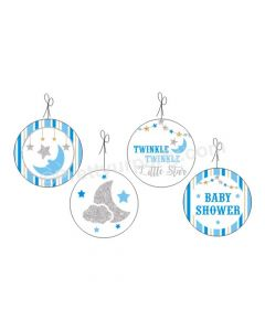 Twinkle Boy Baby Shower Danglers