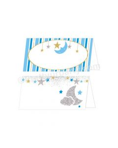 Twinkle Boy Baby Shower Food Labels / Buffet Table Cards