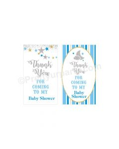 Twinkle Boy Baby Shower Thankyou Cards