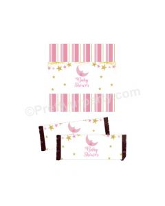 Twinkle Girl Baby Shower Chocolate Wrappers