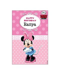 Minnie Mouse Vertical Banner 01