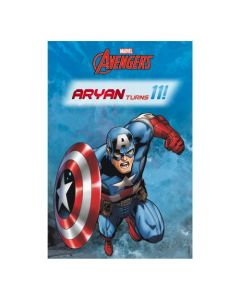 Captain America Vertical Banner 03