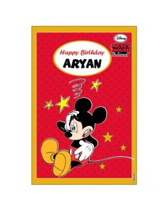 Mickey Mouse Vertical Banner 04
