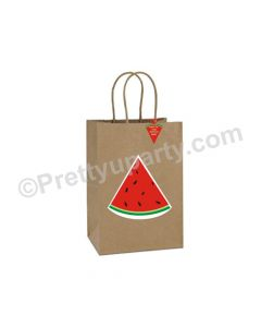Watermelon Gift Bags - Pack of 10