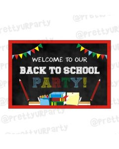 Back to School Entrance Banner
