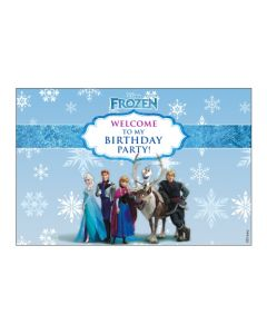 frozen welcome banner