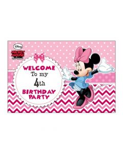 Minnie Mouse Entrance Banner