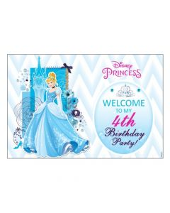 Disney Cinderella Welcome Banner