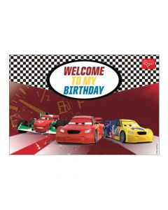 Disney Cars Welcome Banner