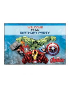 Avengers Welcome Banner