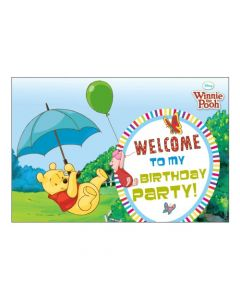 Winnie The Pooh Entrance Banner