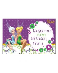 Tinkerbell Welcome Banner