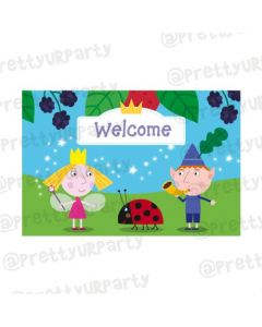 Ben and Holly's Little Kingdom Entrance Banner / Door Sign
