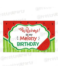 Watermelon Theme Entrance Banner / Door Sign