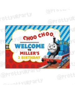 Thomas the Train Entrance Banner
