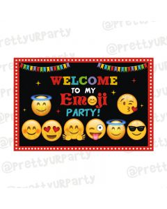 Emoji Theme Entrance Banner