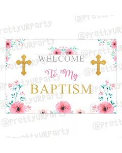 Baptism Theme Entrance Banner