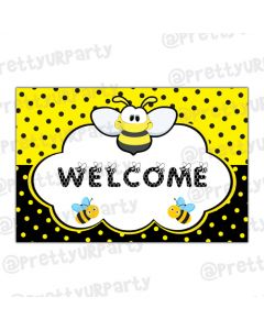 Bumble Bee Entrance Banner
