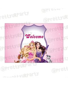 Barbie Rockstar Entrance Banner