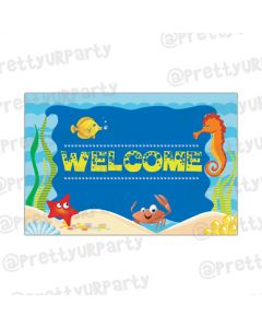 Under the Sea Entrance Banner