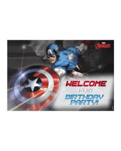 Captain America Welcome Banner