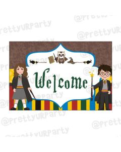 Harry Potter Entrance Banner