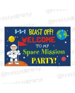 Space Entrance Banner / Door Sign