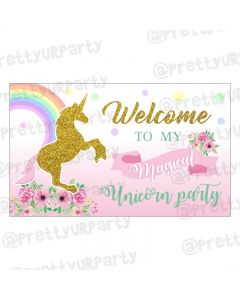 Unicorn Entrance Banner / Door Sign