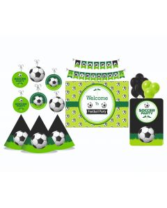 Football Party Decorations Package - 70 pieces
