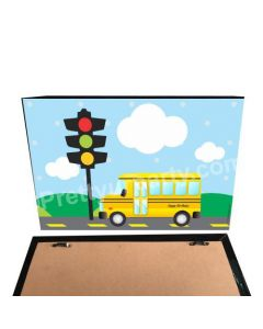 Wheels on the Bus Theme Pinboard