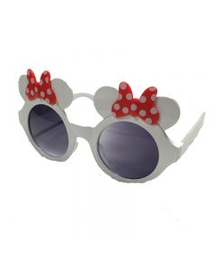 White Minnie Mouse Kids Goggles