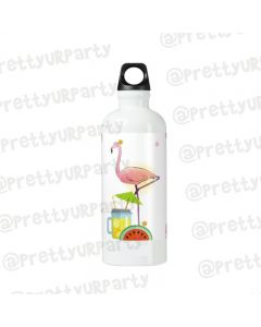 Personalised Flamingo Sippers / Waterbottles - White